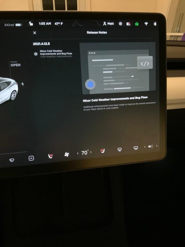 Tesla 2021 4 12 5 what s new