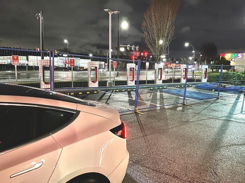 Tesla supercharger coquitlam