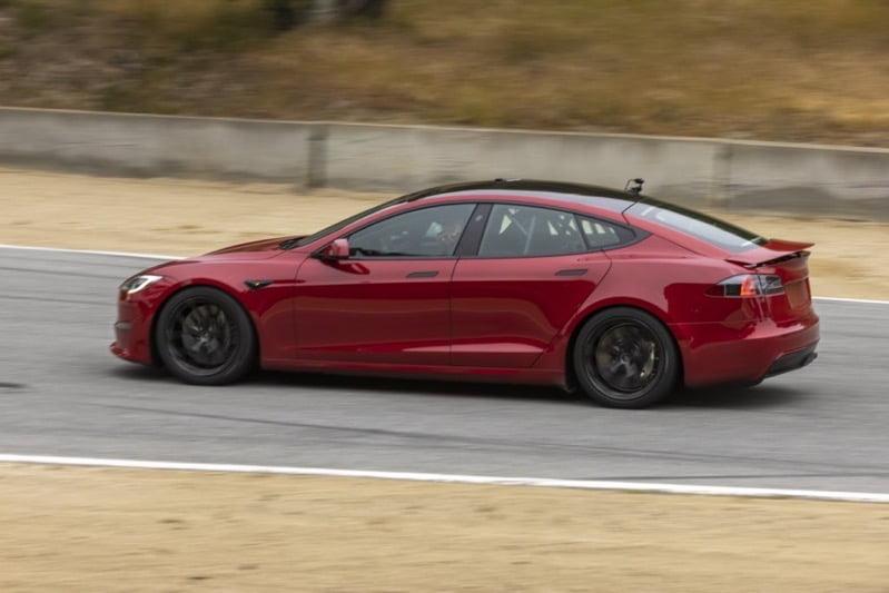 Tesla model s laguna seca
