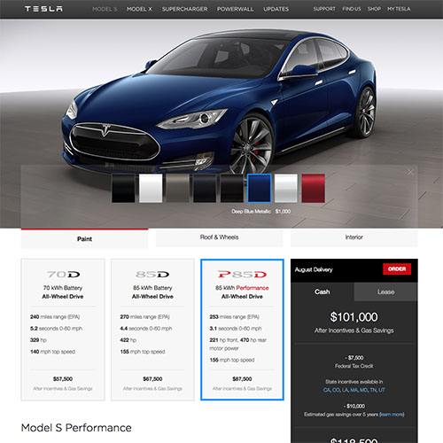 Everything you need to know about ordering your Model S