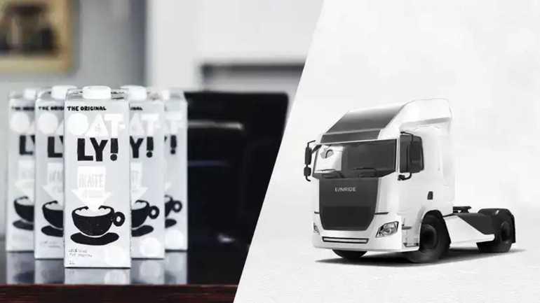 Oatly объединяется с Einride для выпуска электрических грузовиков в Швеции