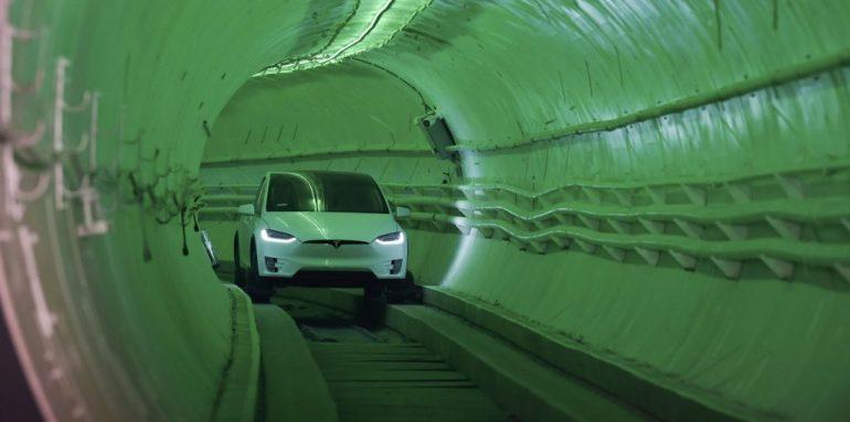 Симуляция петли Вегаса от Boring Company показывает путь к 20 тысячам пассажиров в час