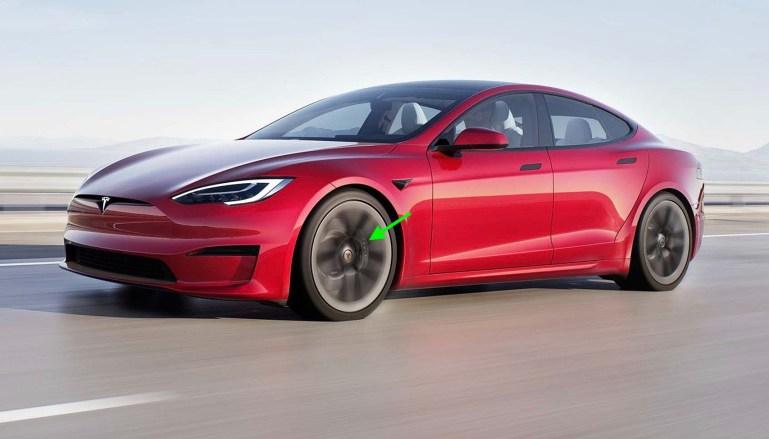 Красные тормозные суппорты Tesla Model S / X Plaid теперь отсутствуют в онлайн-конфигураторе