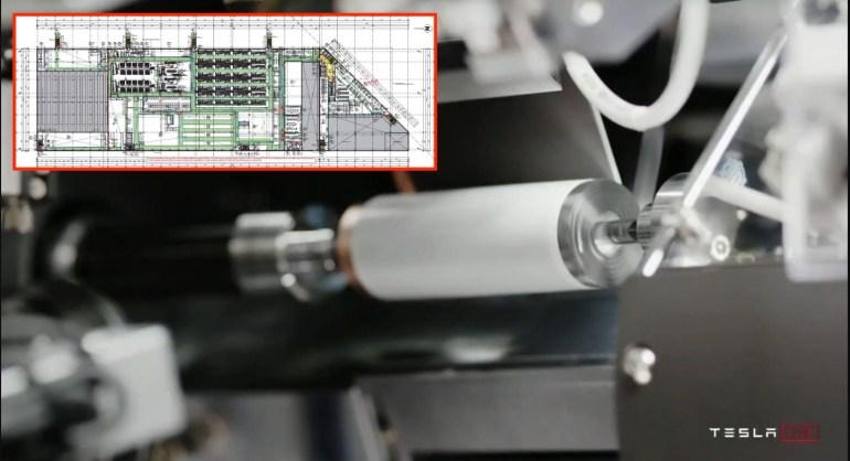 Процесс производства элементов Tesla 4680 описан в исправленных документах Giga Berlin