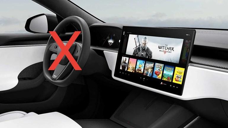 Илон Маск подтвердил, что у новой Tesla Model S не будет «нормального» рулевого колеса