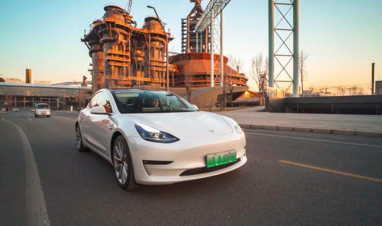 Tesla Model 3 Standard Range Plus становится еще более конкурентоспособной в Китае