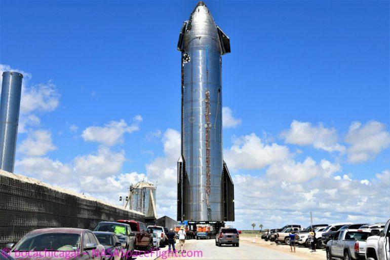 Первый прототип космического корабля SpaceX готовится к контрольным испытаниям
