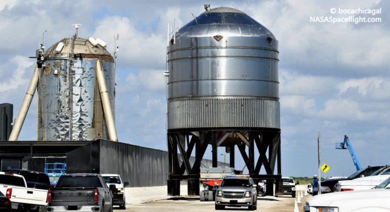SpaceX проведет первые испытания нестандартных резервуаров для хранения топлива Starship