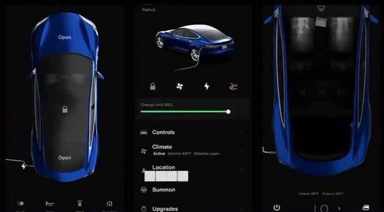Редизайн мобильного приложения Tesla: новый пользовательский интерфейс и интегрированный доступ к магазину Tesla