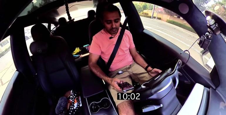 Система мониторинга водителей на базе камеры Tesla прошла испытания мобильного телефона