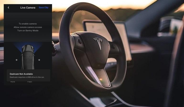 Приложение Tesla намекает на функции прямой трансляции Dashcam и обновленный Boombox