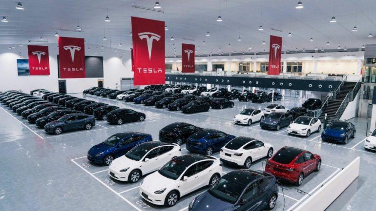 Tesla China объявила ошеломляющие цифры за сентябрь, поставив 56 тыс. Автомобилей