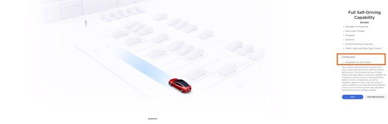 Tesla меняет невыпущенные функции Full Self-Driving с «позже в этом году» на «скоро»