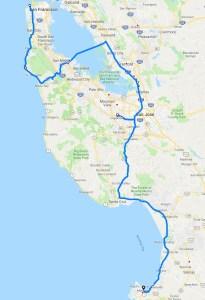 Monterey CA Leg