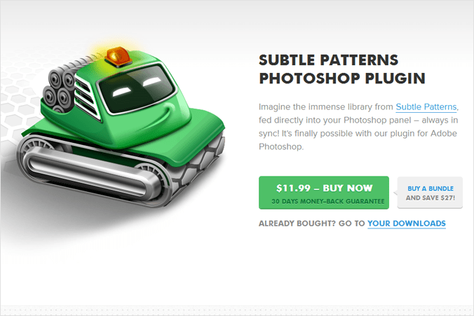 subtle patterns plugin