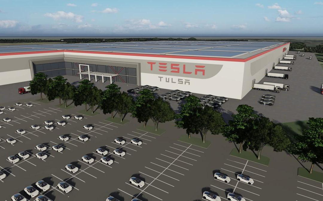 Tesla CEO Elon Musk makes visit to Tulsa to view possible site for factory – TulsaWorld