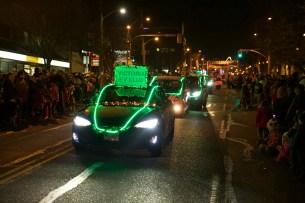 Did you see us at the Victoria Santa Parade?!