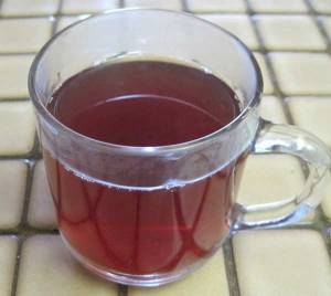 cup of hibiscus cooler