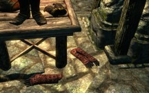 One enchanted and one unenchanted Dark Brotherhood set in the Dawnstar Sanctuary.