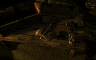 One enchanted and one unenchanted Nightingale gauntlets in the Thieves Guild Vault.