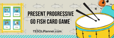 Present Progressive ESL Game