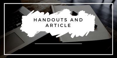 Handouts and Articles for English Learners