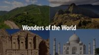 Wonders of the World ESL Lesson Plan