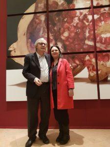 Vittorio Sgarbi e Catia Monacelli