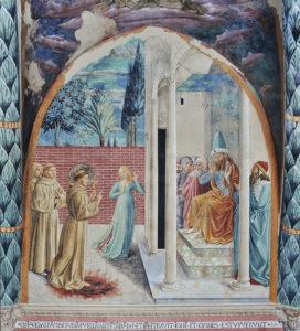 Francesco alla corte del sultano Malik al Kamil