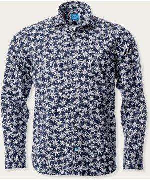 Blue Bazaruto Floral Shirt