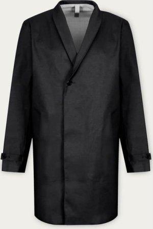 Black Men's Shawl Coat