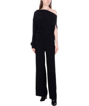 Maison Margiela Black One Shoulder Jumpsuit