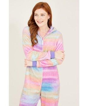 Yumi YUMI Girls Rainbow Unicorn Onesie
