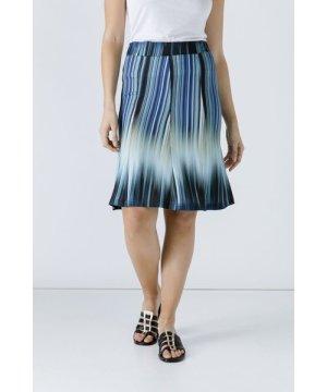 Conquista Print Cloche Skirt