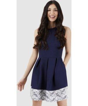 Silvian Heach Grey Long Sleeve Dress