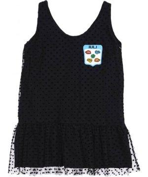 Au Jour Le DRESSES Black Girl Polyester
