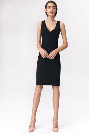 Nife Black mini dress