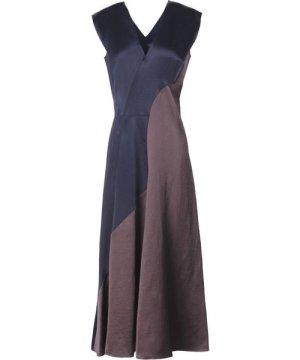 Zero + Maria Cornejo Dark Blue Sleeveless Dress