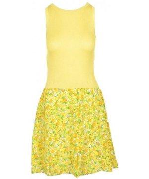 Boutique Moschino Women's Dress In Yellow
