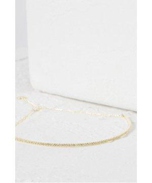 Crystal Choker - gold