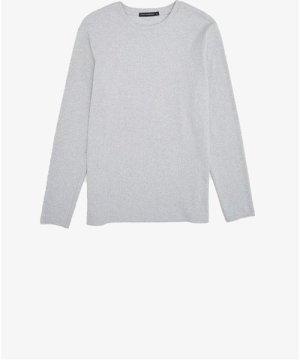 Durby Rib Long Sleeve T-Shirt - light grey mel