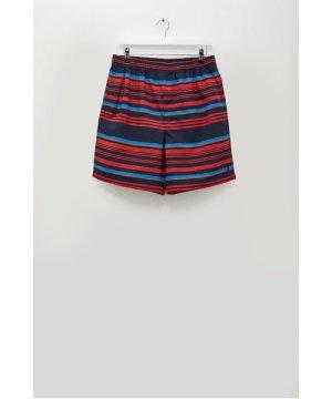 Kuji Stripe Recycled Swim Shorts - multi stripe