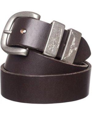 R.M. Williams Mens 3 Piece Buckle Work Belt Chestnut 42