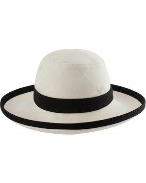 Tilley TH8 Charlotte Hemp Sun Hat Natural/Black Large