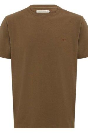 R.M. Williams Mens Parson T-Shirt Olive Drab Small