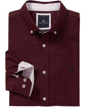 Crew Clothing Mens Slim Oxford Shirt Port Royal XL