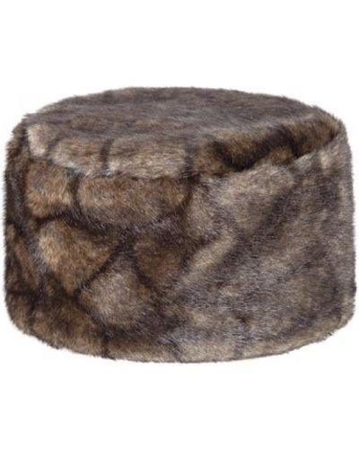 Dubarry Womens Avoca Fur Pill Box Hat Elk Medium/Large