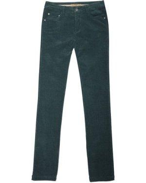 Dubarry Womens Honeysuckle Stretch Pincord Jeans Verdigris 12