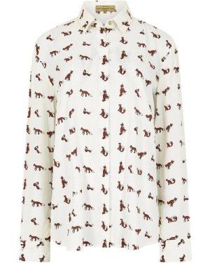 Dubarry Womens Delphine Shirt Cream 16