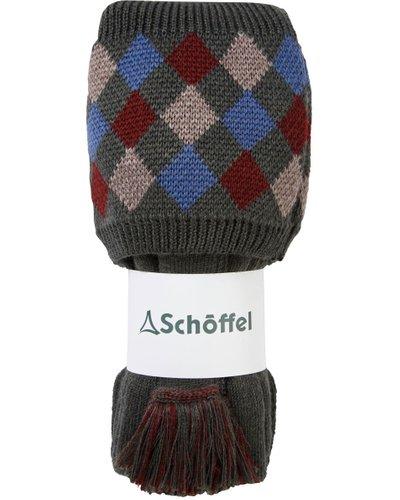 Schoffel Mens Ptarmigan Pro Sock Forest/Mulberry/Mink/Denim Large